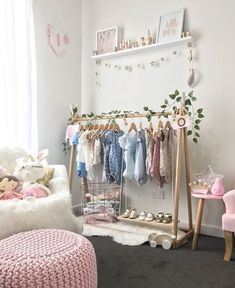 Ivy's Room A Beautifully Bright and Airy Nursery is part of Baby girl nursery room - A combination of grey, white, pink and mint with a touch of gold has resulted in this beautifully light and bright nursery for baby Ivy Baby Bedroom, Baby Room Decor, Nursery Room, Girls Bedroom, Bedroom Decor, Girl Rooms, Bedroom Ideas, Bedroom Mint, Nursery Grey