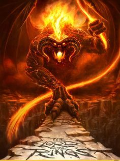 Lord of the rings the balrog demon