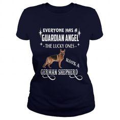 Custom Names German Shepherd T-Shirts