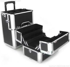 professional aluminum trolley travel flight case