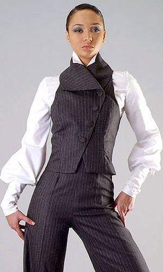 claudette joseph ladies business suit...this is sooo me❤