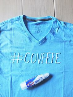 DIY Bleach Pen Shirt || theviewfromhere.is