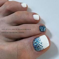 Discover recipes, home ideas, style inspiration and other ideas to try. Glitter Toe Nails, Gel Toe Nails, Feet Nails, Pedicure Nails, Toe Nail Art, Glam Nails, My Nails, Hair And Nails, Purple Toe Nails