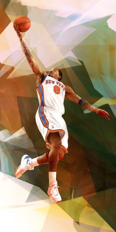 Portraits for Nike Harlem House of Hoops by Denis Gonchar, via Behance
