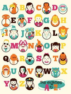 The Eighties from A to Z by Dave Perillo.
