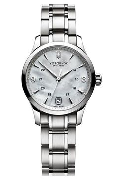 Victorinox Swiss Army® 'Alliance' Bracelet Watch, 30mm available at #Nordstrom