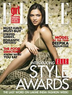 Deepika Padukone on Elle