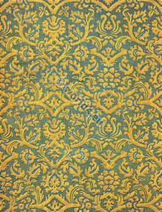 French design fabrics 17th century. Baroque fabric, textil design.