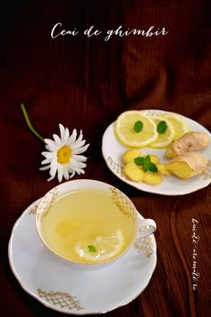 Ceai de ghimbir Panna Cotta, Pudding, Ethnic Recipes, Desserts, Food, Tailgate Desserts, Dulce De Leche, Deserts, Custard Pudding