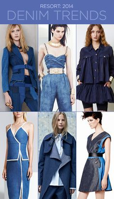 Resort 2014: Denim Trends