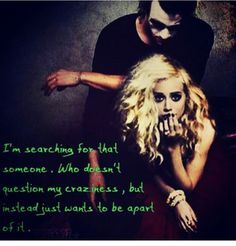 """Harley Quinn & Joker- """"I'm searching for that someone. Who doesn"""