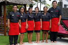 Villas Service Team. Gardener , Housekeeper and butler, Luxury Villas Phuket