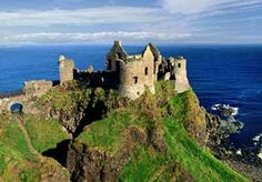 i have wandered this very  castle. northern ireland