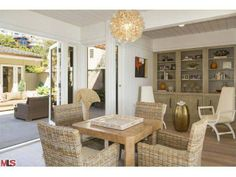 A great example that wicker can be beautiful and modern. Malibu, CA Coldwell Banker Residential Brokerage $15,495,000