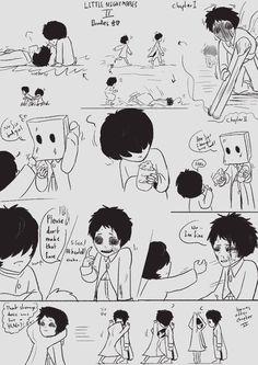 Cute Anime Character, Character Art, Little Nightmares Fanart, Night Terror, Sakura And Sasuke, Art Memes, Kawaii Art, Anime Characters, Fictional Characters
