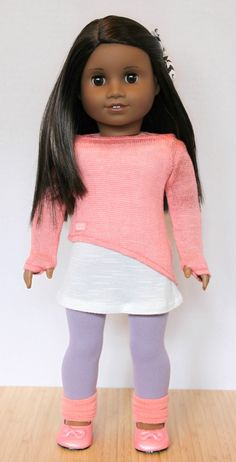 The Doll Wardrobe: Not Just Dancewear: Four Isabelle Items Combined!