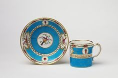 (Tasse) gobelet litron, 2nd size | Sèvres porcelain factory | V Search the Collections