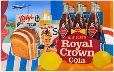Tom Wesselmann, Still Life No. 35, 1963, Oil and collage on canvas, 304.80 x 487.68 cm, The Estate of Tom Wesselmann, New York, © Estate of Tom Wesselmann/SODRAC