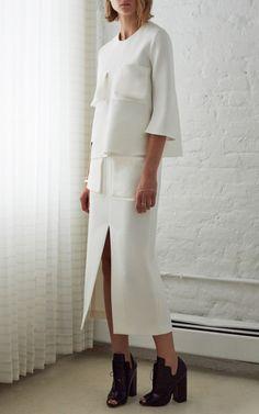 Ivory Reard Skirt by Ellery for Preorder on Moda Operandi