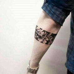 unique Body – Tattoo's – Cherry blossom armband by Hongdam… Related Geometric Compass Tattoo Designs for Men - Cool Geometry Inspiring Arm Tattoo for Women Butterfly Tattoos for Women Tattoo Band, Band Tattoo Designs, Forearm Band Tattoos, Body Art Tattoos, Small Tattoos, Sleeve Tattoos, Cross Tattoos, Armband Tattoos For Men, Armband Tattoo Design