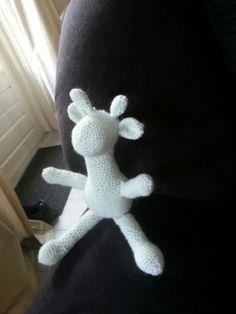 crochet giraffe haak