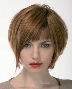 Lovely 33 Lovely Short Bob Hairstyles with Bangs – Cool & Trendy Short Hairstyles 2014 The post 33 Lovely Short Bob Hairstyles with Bangs – Cool & Trendy Short Hairstyles ..