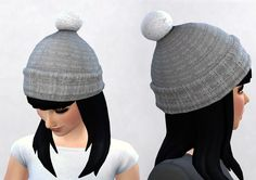 The Sims 4 | Pickypikachu: 3t4 Seasons Puffball Hat CAS Accessory new mesh for male and female adult