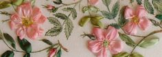 Some advice on saving materials for silk ribbon embroidery