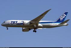 JA814A All Nippon Airways Boeing 787-8 Dreamliner