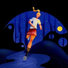 The goddess of endurance races by Yogatella Flat Illustration, Portfolio Design, Disney Characters, Fictional Characters, It Is Finished, Racing, Disney Princess, Inspiration, Inspired