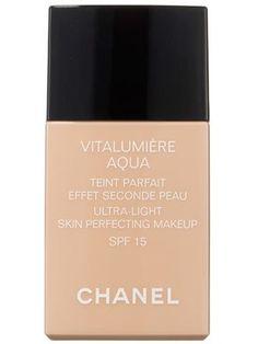 Chanel Vitalumière Aqua Ultra-Light Skin Perfecting Makeup Review | Allure