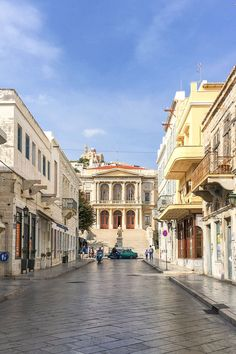 27 Photos of Syros, Greece That Will Ignite Your Wanderlust - Brogan Abroad Syros Greece, Santorini Greece, Athens Greece, Places To Travel, Places To Go, Travel Destinations, Greek Isles, Greece Islands, Greece Travel