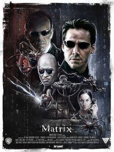 Matrix ... Kino / cinema / Spielfilm / motion picture / Filmplakat / film poster