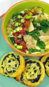 Inspired By eRecipeCards: Zuppa Toscana... Tuscan Soup Better than the Olive Garden Version