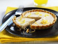 Lemon Tofu Tartlets Recipe | Dairy Free, Desserts, Tarts Recipes | Kitchen Goddess