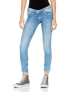 30526a60892a71 Pepe Jeans Damen Slim Jeans Cher Denim (Light POWERFLEX) 27W 28L