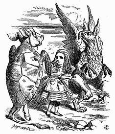 退職教授の見果てぬ夢: 『不思議の国のアリス』の挿絵
