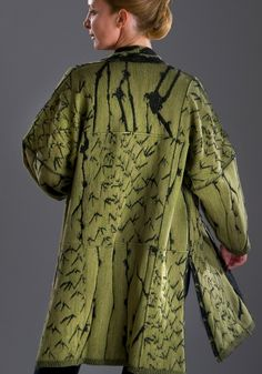 Beautiful One-of-a-kind jackets by Chris Triola Designs