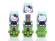 Hello Kitty Fun in Fields 4GB USB 2.0 Flash Drive