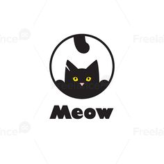 Logo for cat lovers. Buy ready-made logos and vector images.