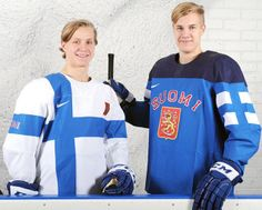 Finland's flag-o-riffic Sochi Olympic jerseys