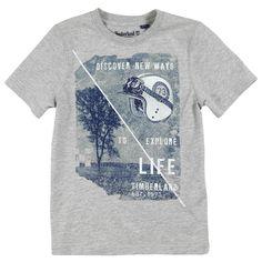 Timberland Tee-shirt en jersey gris chiné Gris | Melijoe.com