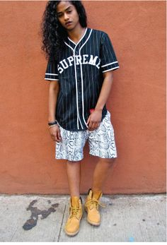 """""""As a girl who was coming into my own as a tomboy it was cool to be able to be fashionable, but still in tune with my own tomboy style…it makes me sort of feel invinvible."""" - Va$htie Kola #timberland"""