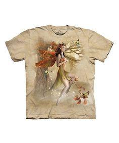 Tan Forest Fairy Tee - Adult