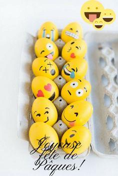 images de Pâques à télécharger fête pascale ludique œufs Smiley Pâques #Easter #photos