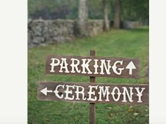 Attractive way to help your guest navigate the wedding logistics!