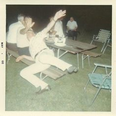 Bill's interpretative dance at the White Shirt Society picnic was met with mixed reviews.