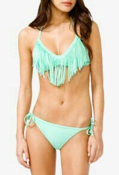 Halter bikini swim interlinked ellis
