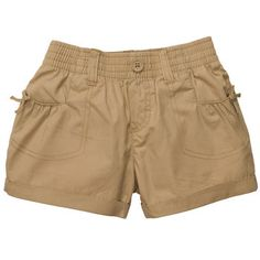 Pull-On Rolled Cuff Shorts