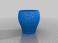 Decorative litte vase by Zebra404.